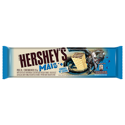 Chocolate Branco Hershey's Mais Cookies 'N' Creme 115G