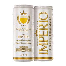 Cerveja Império Puro Malte Pilsen 350 mL