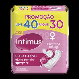 Protetor Diário INTIMUS DAYS Ultra Flexível Leve 40 Pague 30