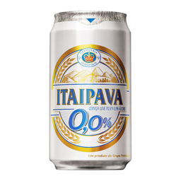 Cerveja Sem Álcool Itaipava Zero Álcool Lager 350 mL