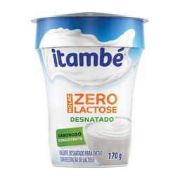 Iogurte Desnatado Sem Lactose Itambé Nolac Tradicional 170 g