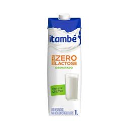 Leite Desnatado Sem Lactose Uht Tipo B Itambé Nolac 1 Litro