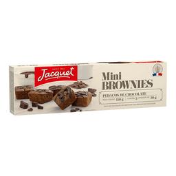 Mini Brownie Com Pedaços De Chocolate Jacquet 150 g
