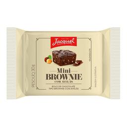 Mini Brownie De Chocolate Com Avelã Jacquet 30 g