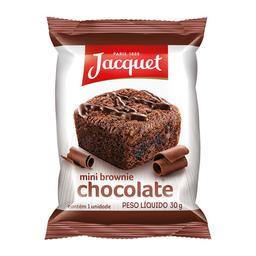 Mini Brownie De Chocolate Jacquet 30 g