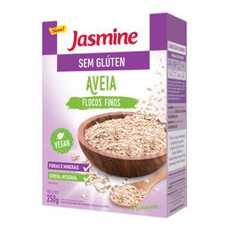 Aveia Integral Em Flocos Finos Jasmine Sem Glúten 250 g