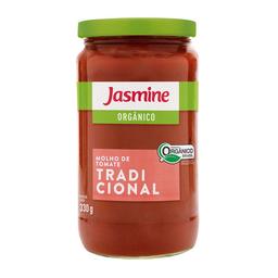 Molho De Tomate Orgânico Tradicional Jasmine 330 g