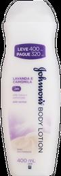 Hidratante Johnson's Lavanda e Camomila 400mL