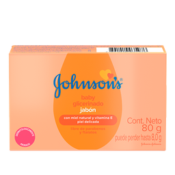 Sabonete Barra Glicerinado JOHNSON'S® Baby 80 g