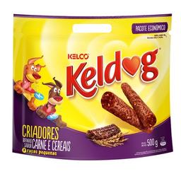 Bifinho Para Cachorro Adulto Keldog Sabor Carne E Cereais 500 g