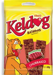 Bifinho Para Cachorro Adulto Keldog Sabor Churrasco 55G