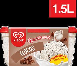 Sorvete De Flocos Cremosíssimo Kibon 1,5 Litros