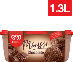 Sorvete Mousse De Chocolate Kibon 1,3 Litros