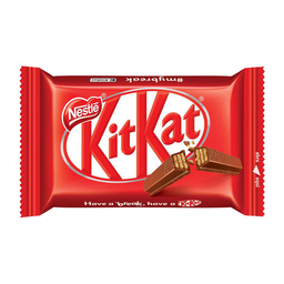 Mini Barra De Chocolate Ao Leite Com Biscoito Kit Kat 41,5G