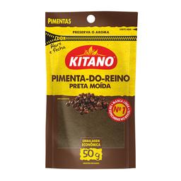 Pimenta Do Reino Preta Em Pó Kitano 50 g