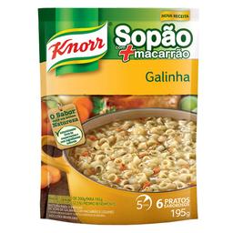 Sopa De Galinha Com Macarrão Knorr 195G