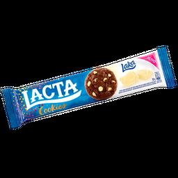 Biscoito LACTA Cookies Gotas de Chocolate Branco 80g
