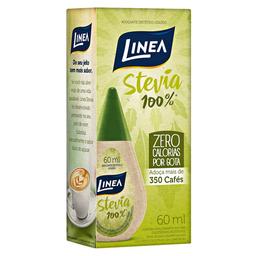 Adoçante Líquido Stévia Linea 60 mL