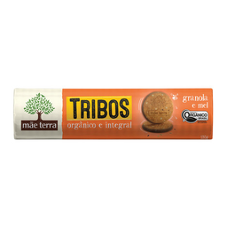 Biscoito Ogânico E Integral Granola E Mel Mãe Terra Tribos 130 g