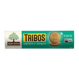 Biscoito Orgânico E Integral De Coco Mãe Terra Tribos 130 g