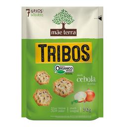 Snack Orgânico Mãe Terra Sabor Cebola E Salsa Tribos 50 g