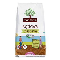 Açúcar Mascavo Orgânico Mãe Terra 400 g