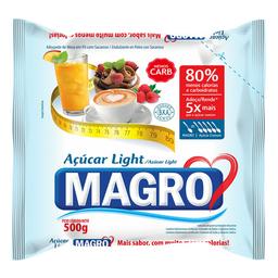 Adoçante Em Pó Sacarina E Ciclamato Light Magro 500 g