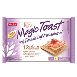 Torrada Salgada Integral Light Marilan Magic Toast 144G