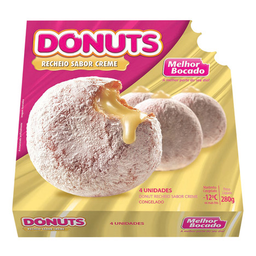 Donuts De Creme Melhor Bocado 280 g 4 Unidades