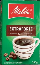 Café Em Pó Extraforte Melitta 250 g