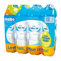 Água Mineral Sem Gás Minalba 1,5 Litros - Pack 8 Unidades