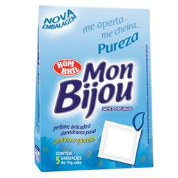 Odorizador Mon Bijou Sachês Perfumados Sachê Pureza 50 g