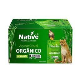 Açúcar Cristal Orgânico Native 5G Com 50 Unidades