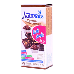 Barra De Cereal Sabor Brigadeiro c/ Chocolate Naturale 3 Un.