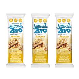Barra De Cereal Banana E Aveia Naturale 3 Unidades