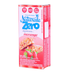 Barra De Cereal Sabor Morango Naturale 3 Unidades