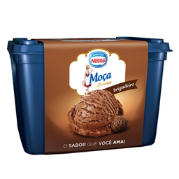 Sorvete De Brigadeiro Moça Nestlé 1,5 Litros