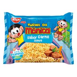 Macarrão Lámen Nissin Turma Da Mônica Sabor Carne Suave 85G