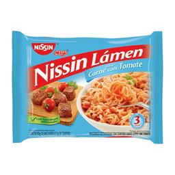 Macarrão Instantâneo Nissin Sabor Carne Com Tomate 85G