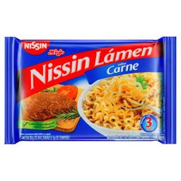 Macarrão Lámen Nissin Sabor Carne 85G