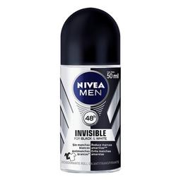 Desodorante Roll-On Nivea Invisible Black & White Masc. 50 mL