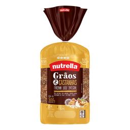 Pao Graos E Castanhas Vitta 450G Nut