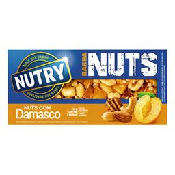 Barra Nuts Com Damasco Nutry 2 Unidades