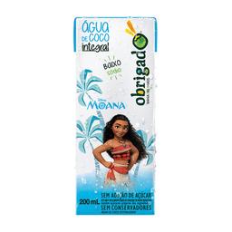Água De Coco Obrigado Moana 200 mL