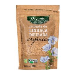 Linhaça Dourada Orgânica Organic 200 g