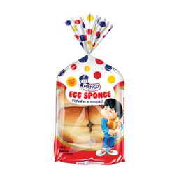 Pão De Ovo Panco Egg Sponge 250 g Com 10 Unidades