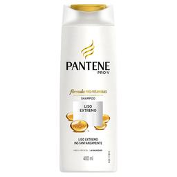 Shampoo Pantene Liso Extremo Sem Sal 400 mL