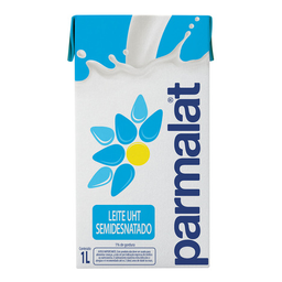 Leite Semidesnatado Uht Tipo A Parmalat 1 Litro