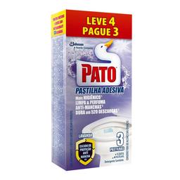 Desodorizador Sanitário Em Pastilha Pato Lavanda Com 4 Unidades
