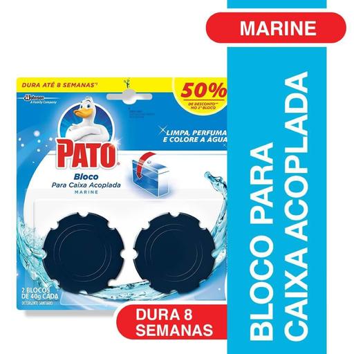 Pato Desodorizador Sanitário Marine